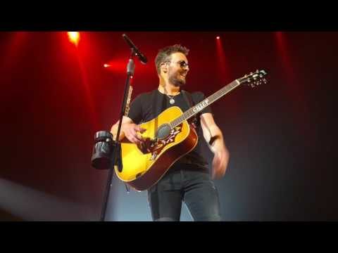 Eric Church - Heard It In A Love Song (Marshall Tucker Band Cover) Greenville, SC 5/6/2017