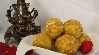 Boondi Ladoo - Diwali Sweets Indian Recipe