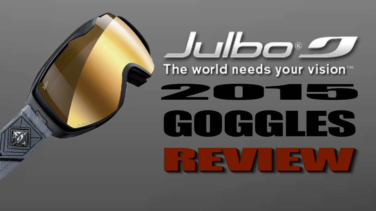 60d0428962 2015 Julbo Goggles With Glen Plake - YouTube