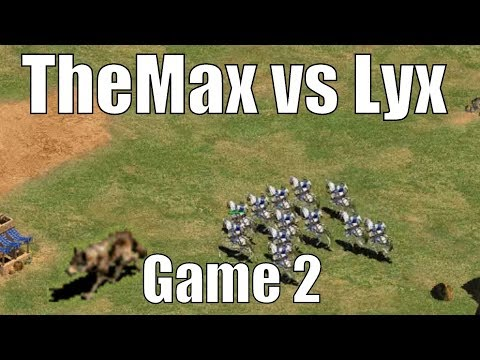 TheMax vs Lyx! King of the Desert! [Game 2]