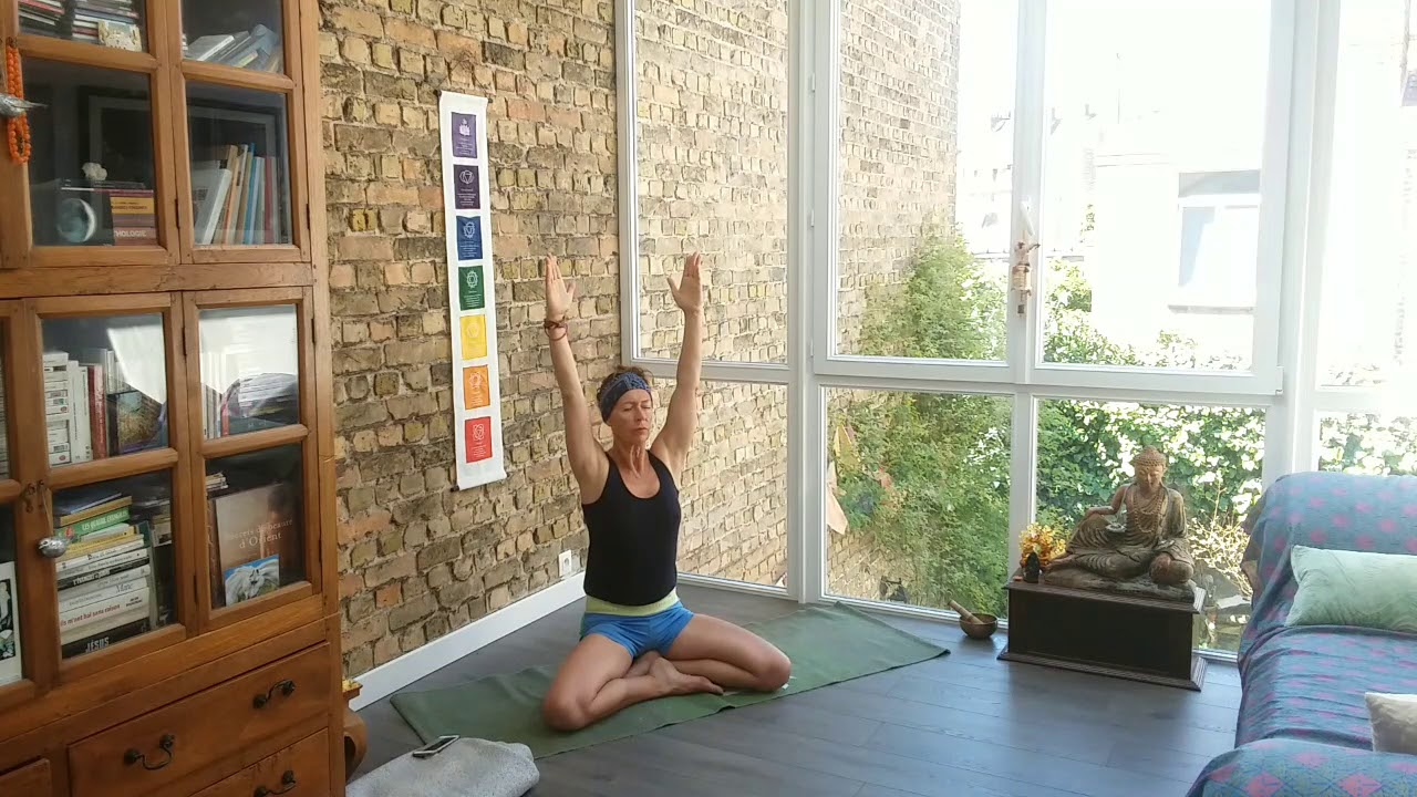 Nouvelle vidéo de Yoga avant reprise des cours