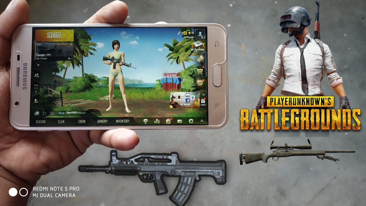 PUBG Game play Galaxy J7 Prime After Oreo 8.1 update 【GAME LoVERS】