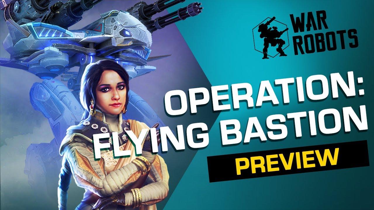Flying Bastion | War Robots OPERATION 7