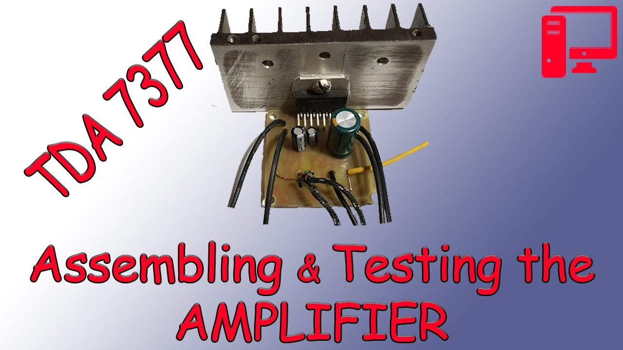Tda7377pcb Amplifier T 60 Watts Audio Circuit Using Tda7296 Class Ab Super Budget On Tda7377 Own Hands Part2 Assembling And Testing The