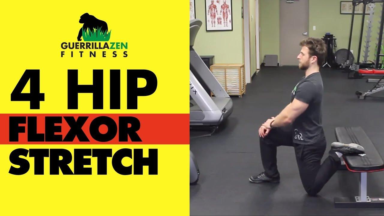 Hip Flexor Stretch | Stretch ALL 4 HIP FLEXOR MUSCLES ...