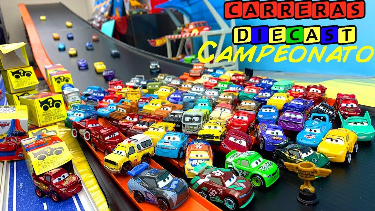 100 MINI RACERS CARS CAMPEONATO