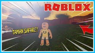 UPIN THE SPOOKY STORY IN SAFARI PARK!! (BIRTHDAY PARTY 2)-ROBLOX UPIN IPIN