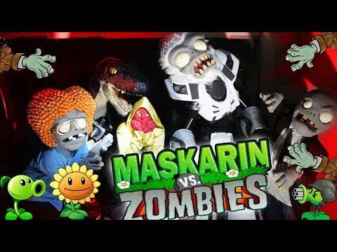 Maskarin VS Zombies / Plantas VS Zombies / Manito y Maskarin