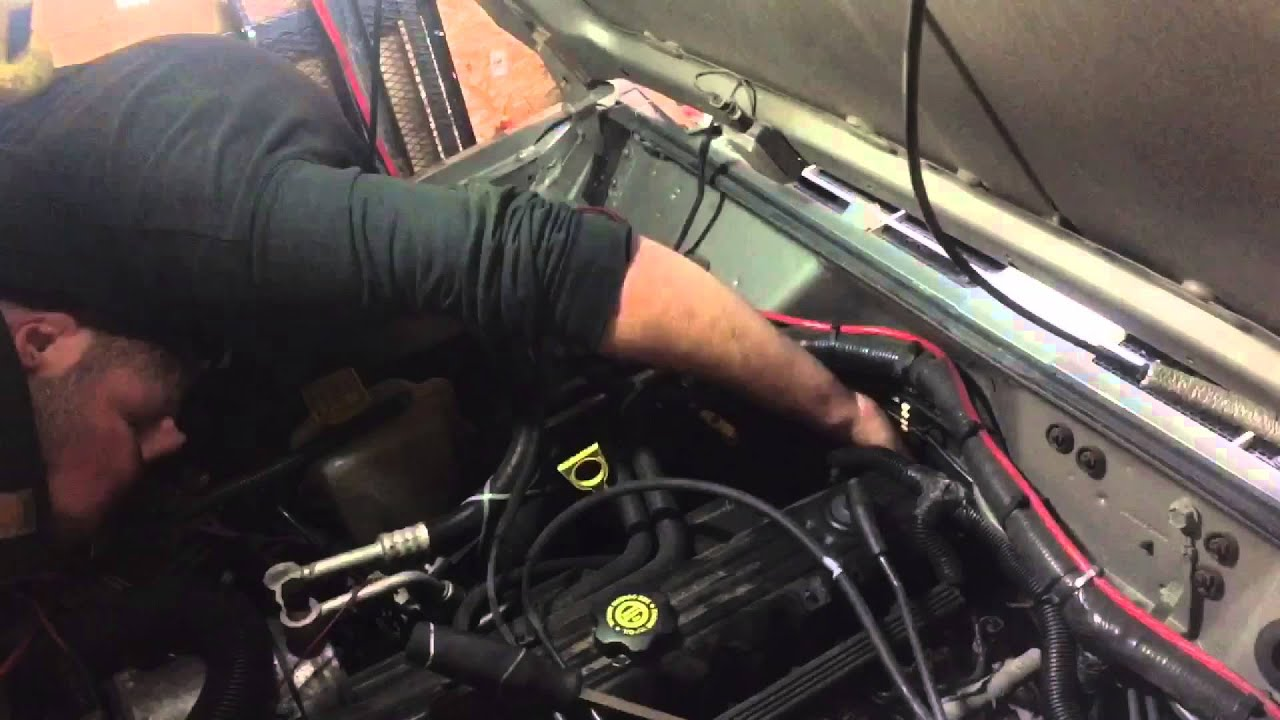2001 Jeep Cherokee How To Replace Heater Core Youtube