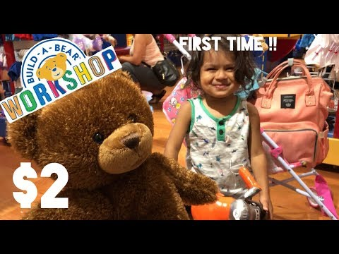 PAY YOUR AGE DAY AT BUILD-A-BEAR WORKSHOP