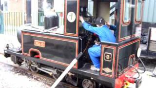Gartell Light Railway No.6, narrow gauge steam railway, Somerset