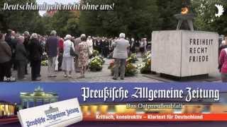 """Deutschlandlied beim zentralen Festakt zum Tag der Heimat 2014 - """"Deutschland geht nicht ohne uns"""""""