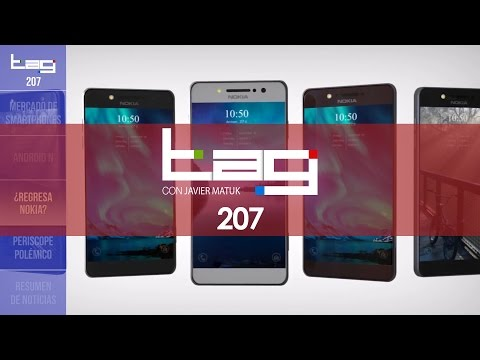 TAG #207: Telcel, AT&T, Movistar:participación mercado; Nokia C9, Galaxy S7 en México y evento Apple
