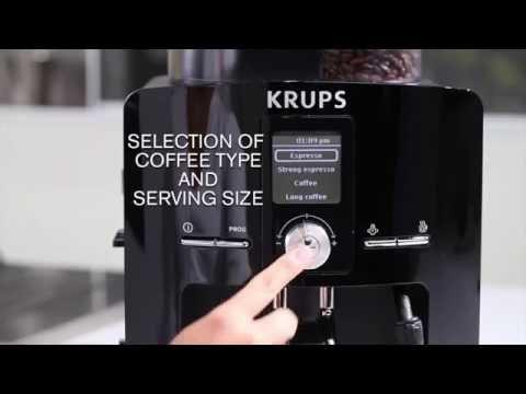 Krups EA82 Fully Automatic Espresso Machine