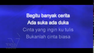 Bukan Cinta Biasa - Siti Nurhaliza (KARAOKE)