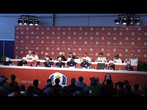 United States Ryder Cup Team Full Press Conference After Regaining The Ryder Cup