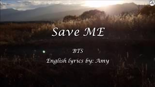 save-me-english-karaoke-bts