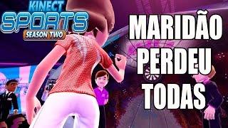 Kinect Sports Season Two - Xbox 360 - MARIDO APANHA NO DARDO E NO TÊNIS