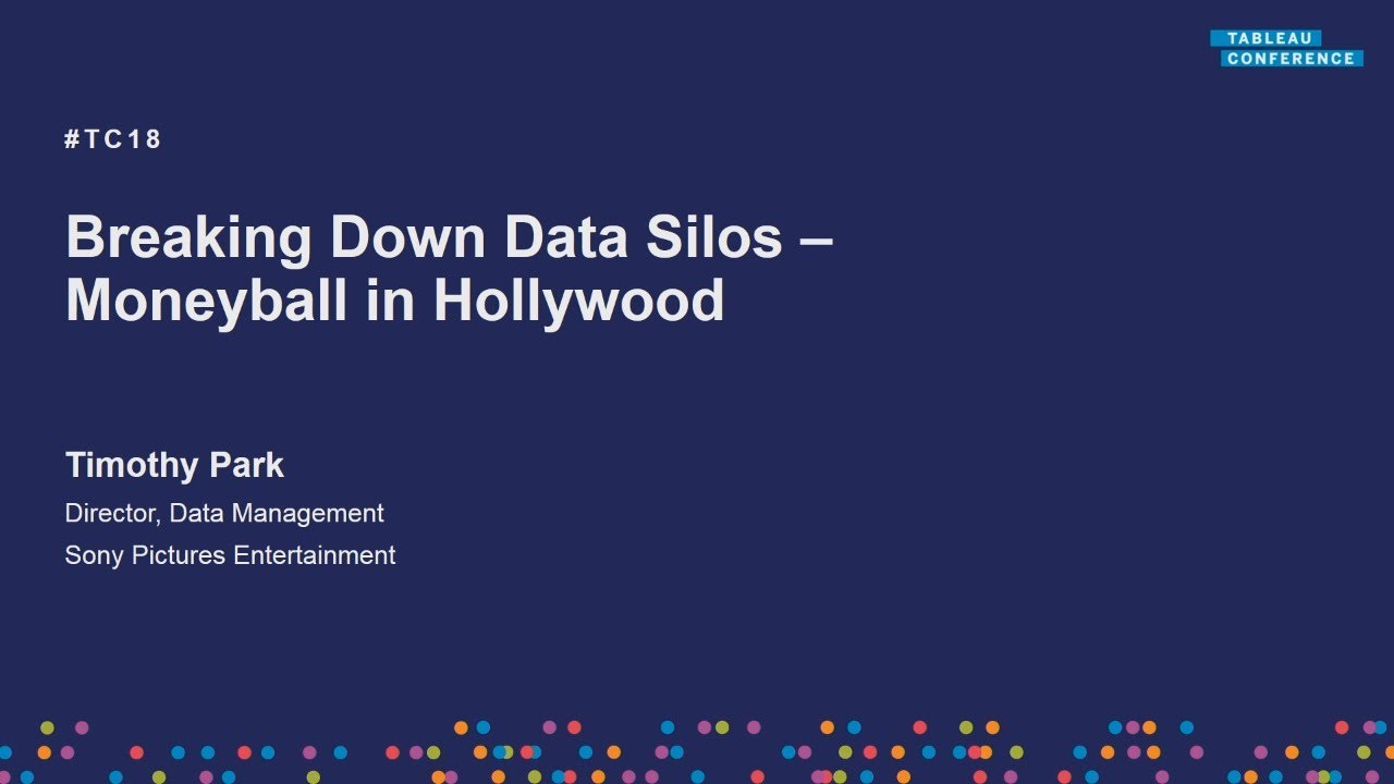 Breaking down data silos at Sony Pictures Entertainment