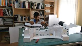 Architectural Model making - A timelapse [EXTENDED VERSION]