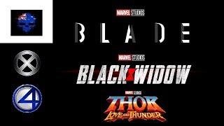 MCU Phase 4 Movies Announced! Part 2 (Blade, Black Widow, Thor ETC)