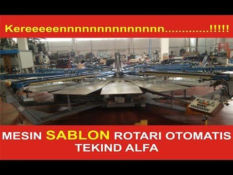 MESIN SABLON ROTARI OTOMATIS