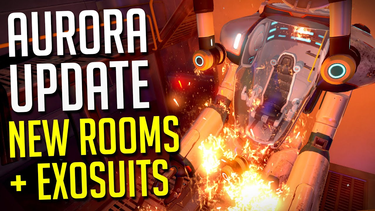 Subnautica Aurora Update New Rooms Exosuit Fragments Pdas