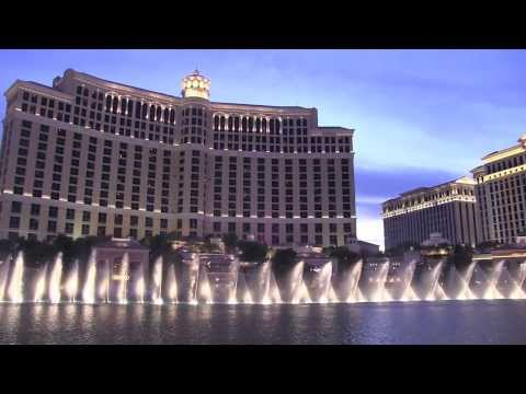 Bellagio Fountains  Luck Be A Lady