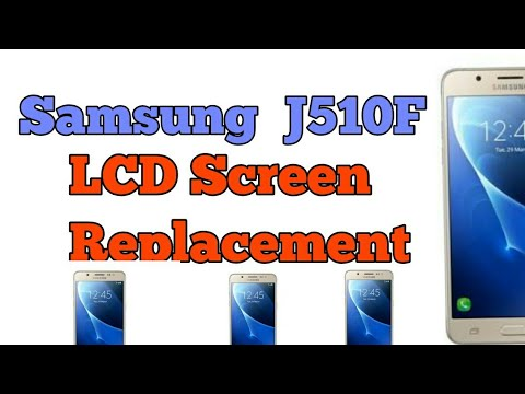 Samsung Galaxy J5 (2016) SM-J510 LCD and Digitizer Assembly 2017