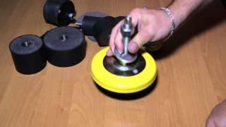 видео Виброопоры для станков и оборудования