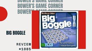 Bower's Game Corner: Big Boggle Review