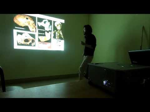 Лекция Дробышевского в Хотылёво
