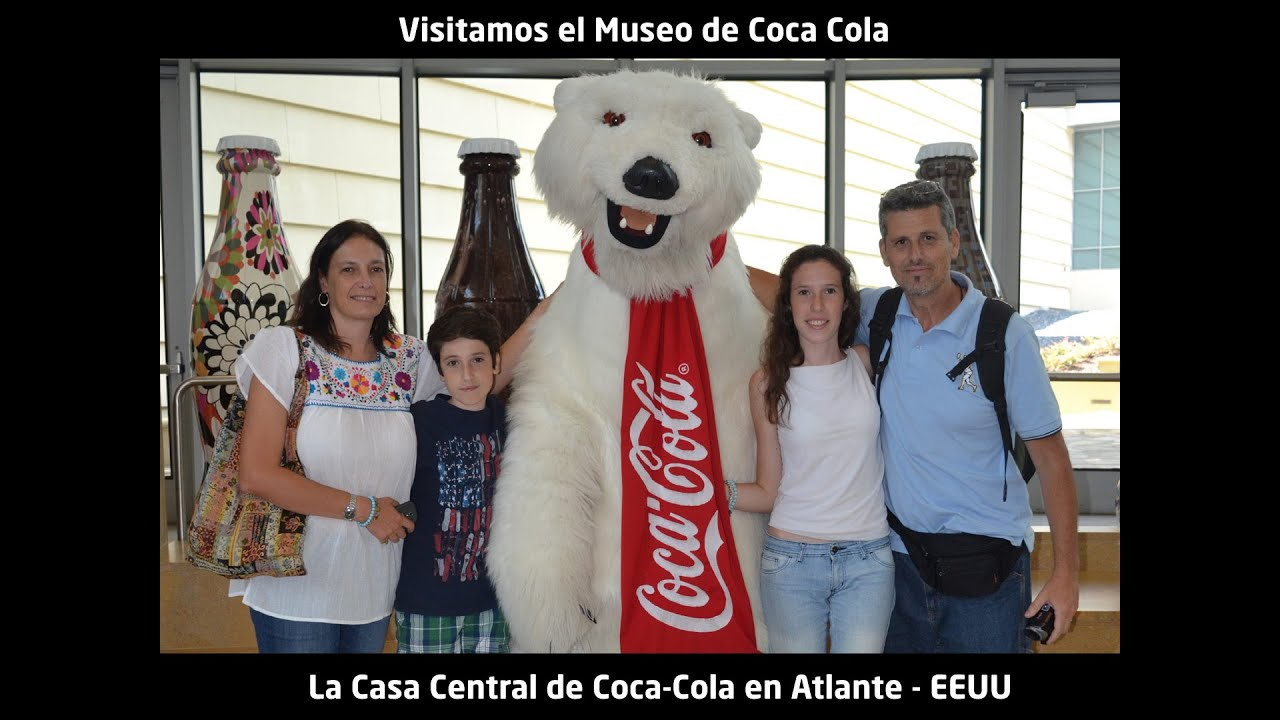 Se puede ir a la fábrica de Coca Cola? Visitamos The Home of Coke en Atlanta - YouTube