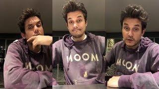 John Mayer | Instagram Live Stream | 23 September 2018