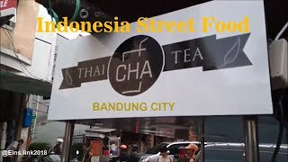Cha Thai Tea ||  indonesia Street Food #201
