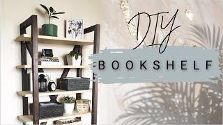 DIY стеллаж из дерева своими руками | BOOKSHELF