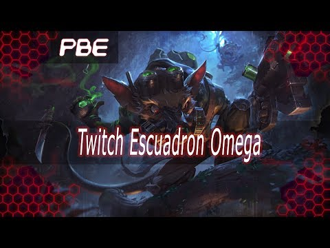 Nuevo Skin - Twitch Escuadron Omega (Omega Sqad Twitch) 1350RP NO TERMINADA