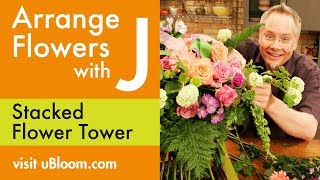 How to create a Faux Hand tied Bouquet with a concealed water source