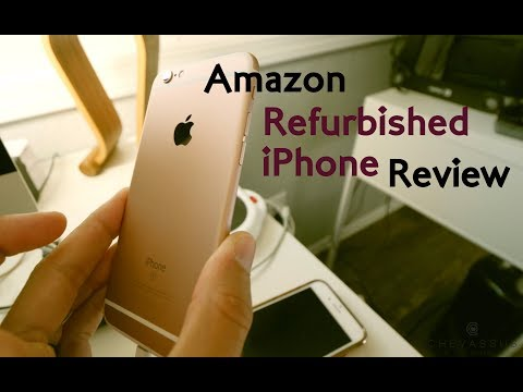 ★★★★★-review:-refurbished-iphone-6s-amazon---unlocked,-64gb-version-unboxing