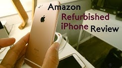 ★★★★★ Review: Refurbished iPhone 6s Amazon - Unlocked, 64gb version unboxing