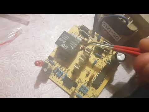 Ремонт зарядного устройства шуруповерта Интерскол 12 вольт, на плате SD C804S