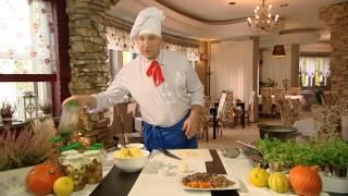 Rączka gotuje - żurek na gęsinie i ozorki w sosie chrzanowym