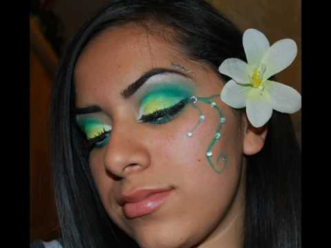 Tinkerbell Inspired Makeup Allthatglitters21 Contest