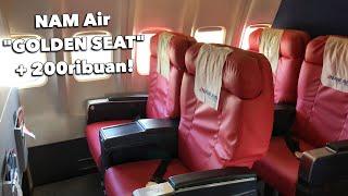 "NAM Air ""Golden Seat"" Flight Experience | Bali - Labuan Bajo (IN664)"