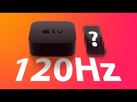 New Apple TV with 120Hz Support and New Remote Coming Soon?