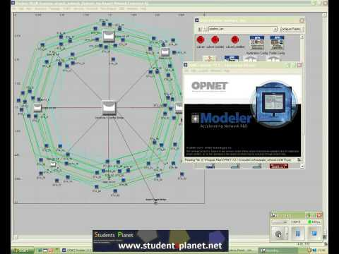 OPNET Tutorials at www.studentsplanet.net, Part#1 - YouTube