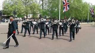 Band of the brigade of Gurkhas, changing of the guard part 1