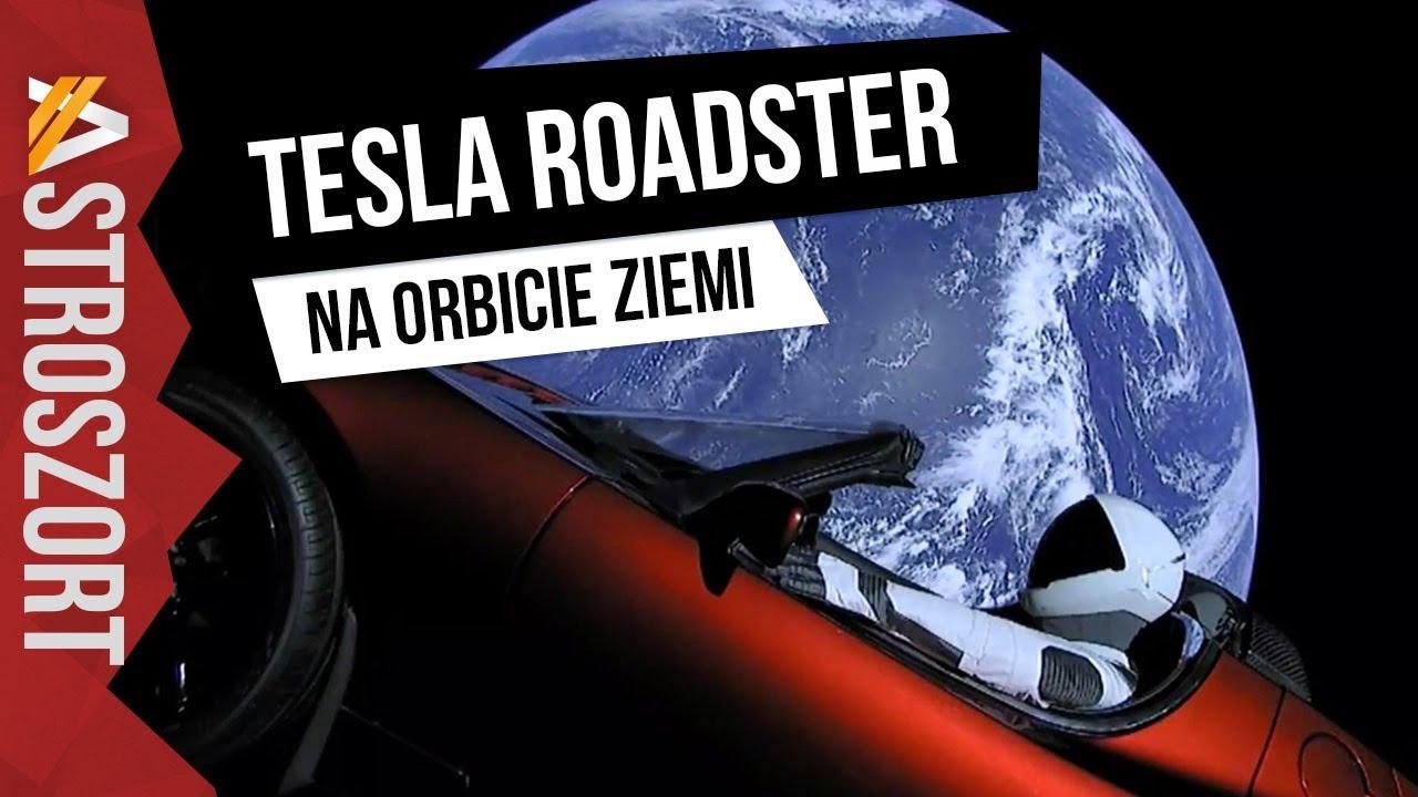 Samochód wystrzelony na orbitę Ziemi – AstroSzort