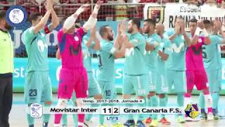 A PIE DE PISTA | Movistar Inter vs Gran Canaria F.S.