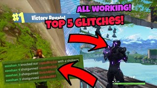 Fortnite Glitches Season 5 (Top 5) All best Season 5 glitches PS4/Xbox one 2018